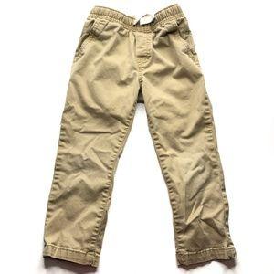 Cat & Jack Brown Khaki Pants A000776